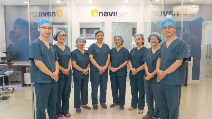 Đội ngũ Bác sĩ dày dặn kinh nghiệm tại Navii Dental Care
